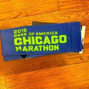Chicago marathon nike socks NWT